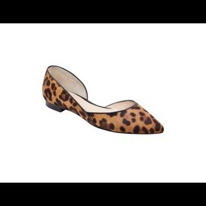 Marc fisher flats Cheetah print shoe size 8
